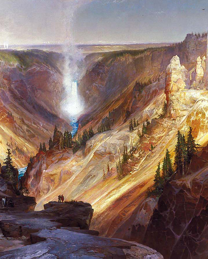 Grand Canyon of the Yelowstone 200x250