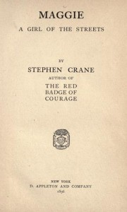 Maggie 1896 book cover