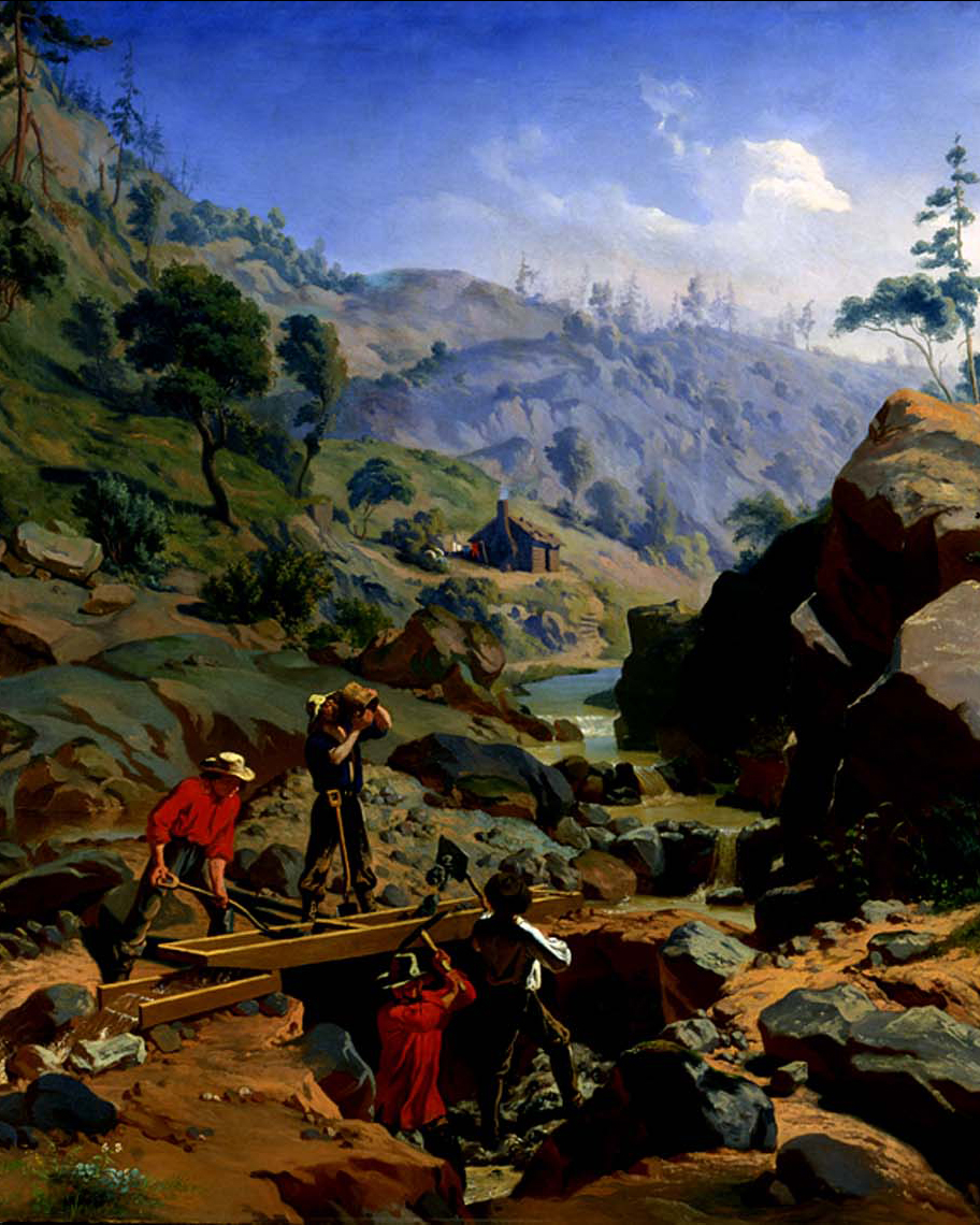Miners in the Sierras_200x250