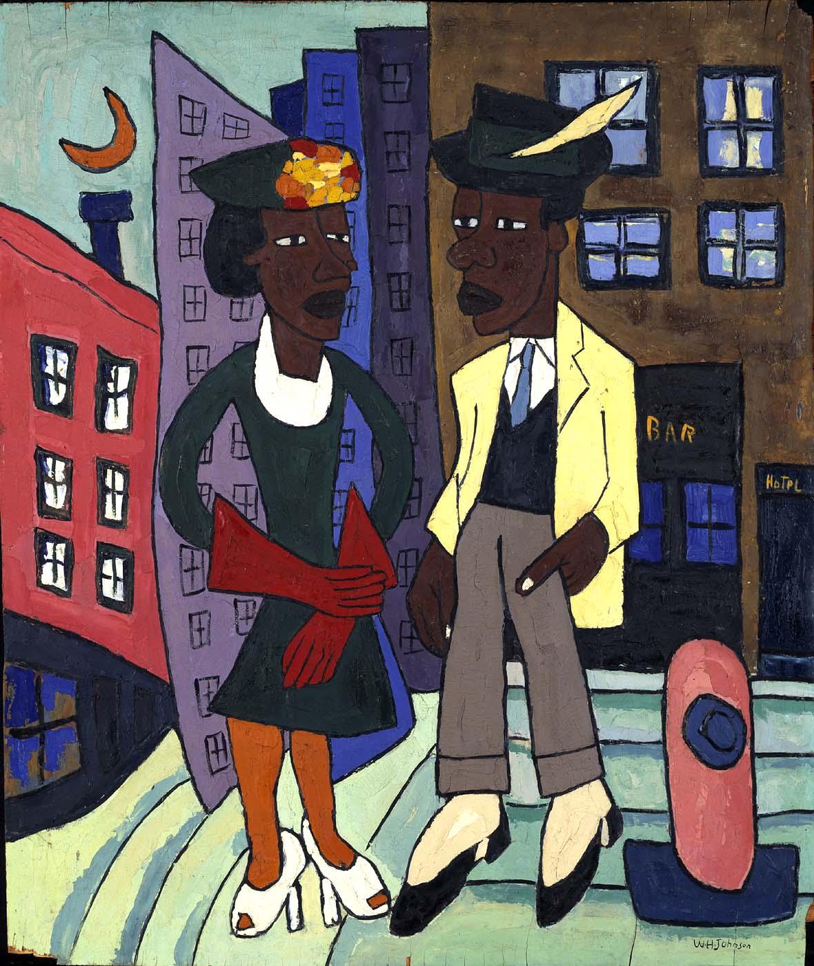 1967.59.674_1a Street Life, Harlem