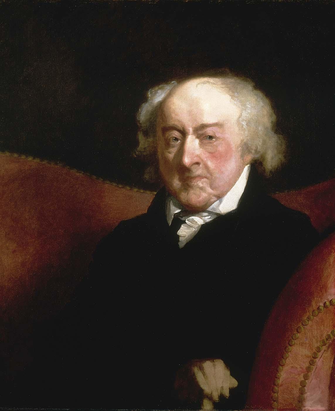 John Adams, 1826, Gilbert Stuart, Smithsonian American Art Museum