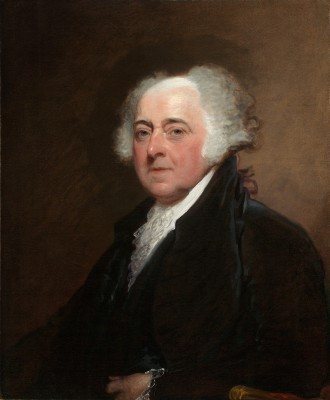 John Adams, c. 1800/1815, Gilbert Stuart, National Gallery of Art