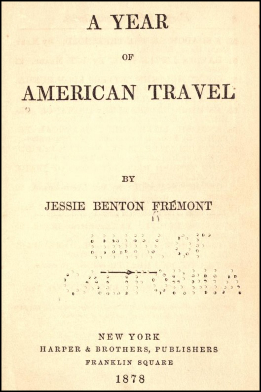 A Year of American Travel Fremont