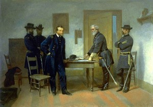 Lee Surrendering to Grant at Appomattox_1981.139_1a