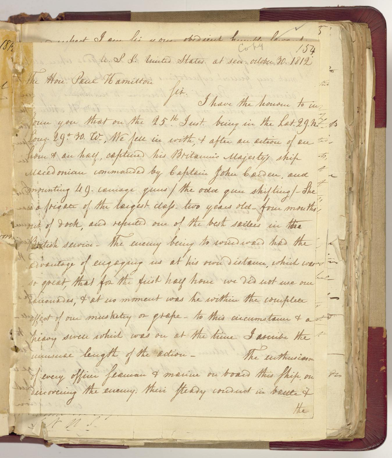 Letter from Stephen Decatur to Paul Hamilton NARA_resize