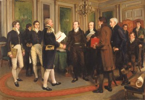The Signing of the Treaty of Ghent, Christmas Eve, 1814_1922.5.2_1a