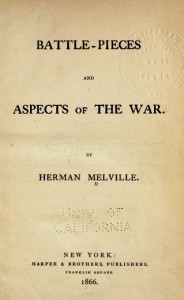Title Page Battle-Pieces and Aspects of the War by Herman Melville 1866