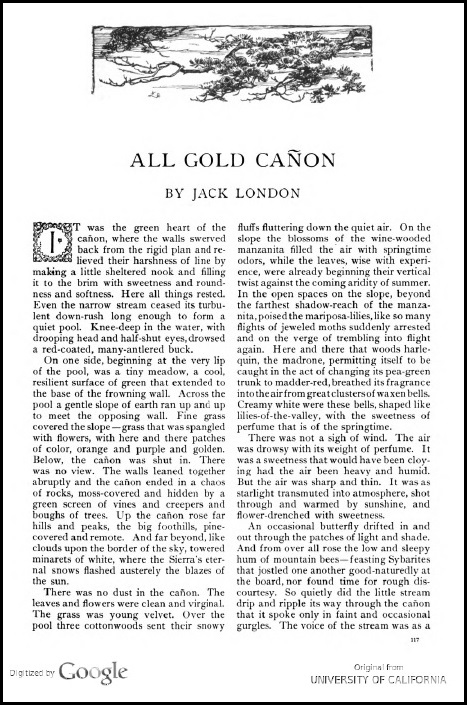 All Gold Canon_Jack London