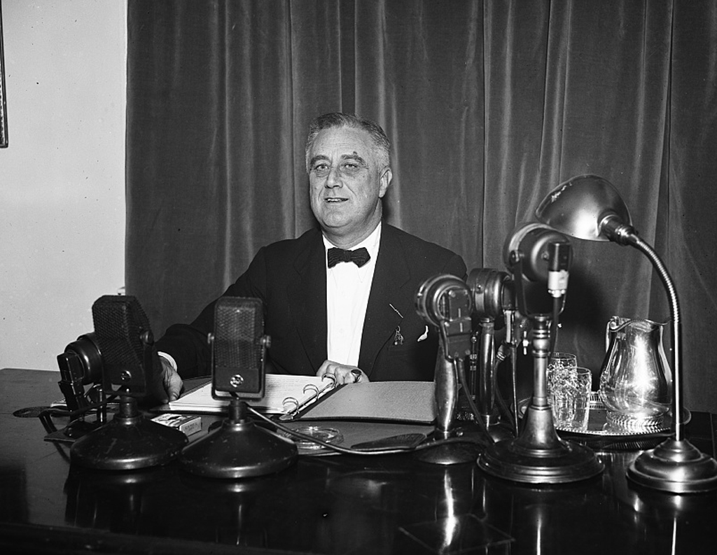 FDR fireside chat on U.S. Supreme Court Reform Plan, 1937, Harris & Ewing (photographer), Library of Congress