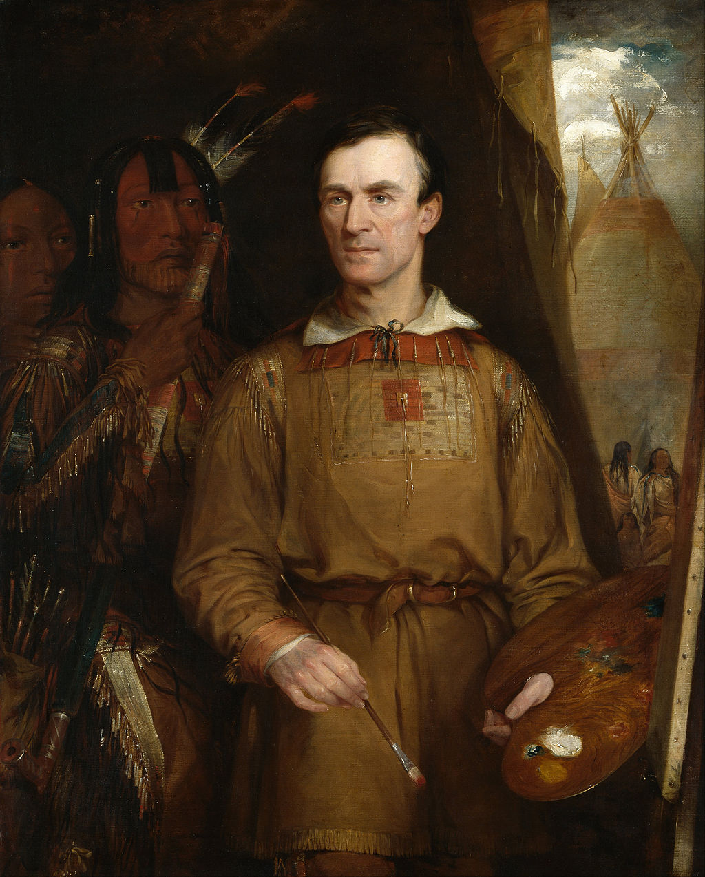 George-Catlin Self Portrait_NPG
