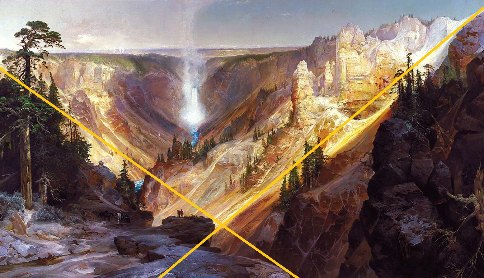 Grand Canyon of the Yelowstone_edit