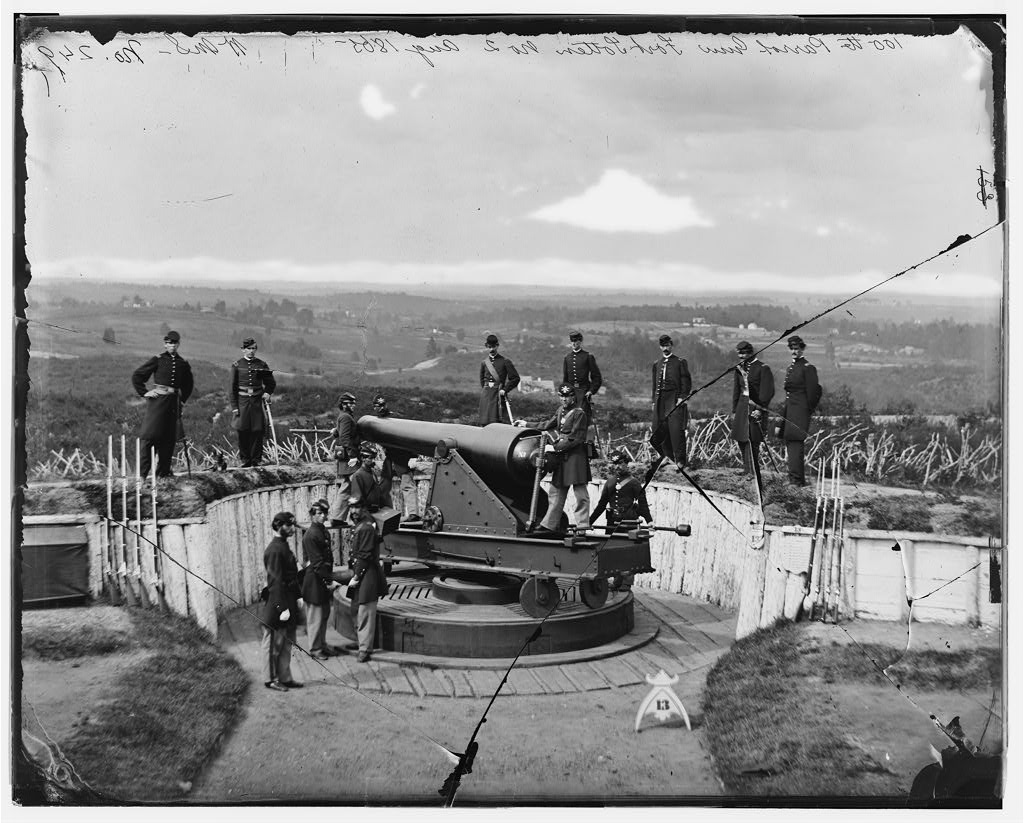 Parrott gun at Fort Totten, District of Columbia, 1865, William Morris Smith, Library of Congress