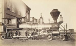 [Pennsylvania Railroad Locomotive at Altoona Repair Facility]_1994.91.213_1a