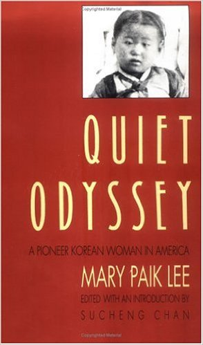 Quiet Odyssey Mary Paik Lee cover