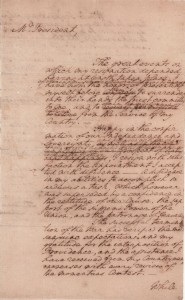Washington's Resignation Speech Draft Maryland State House