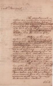 Washington's Resignation Speech Draft Maryland State House